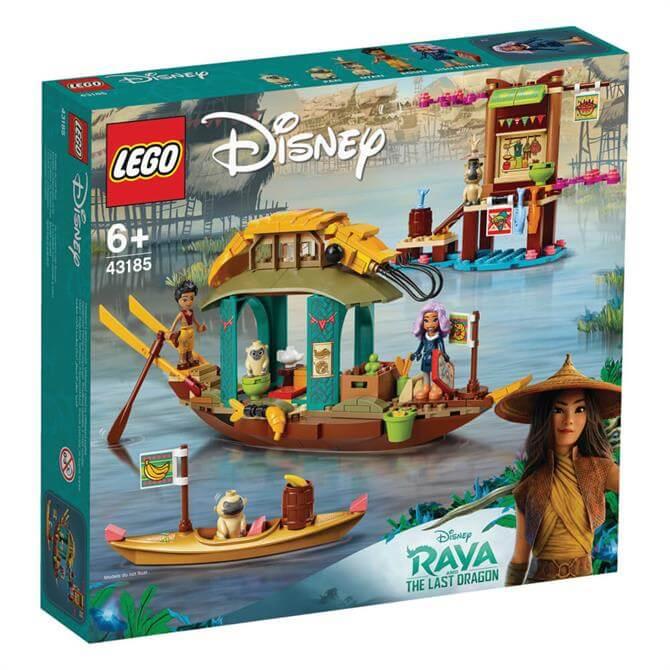 Lego Disney Raya & the Last Dragon Boun's Boat Playset 43185