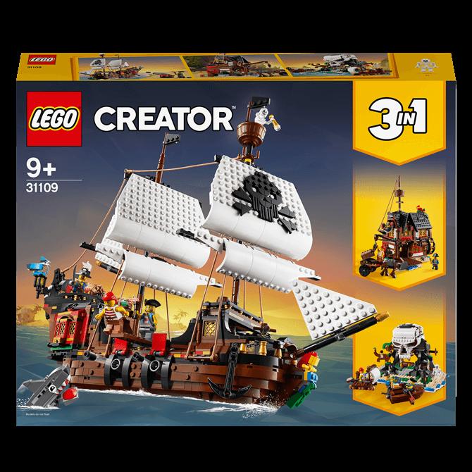 Lego Creator 3-in-1 Pirate Ship 31109 Set