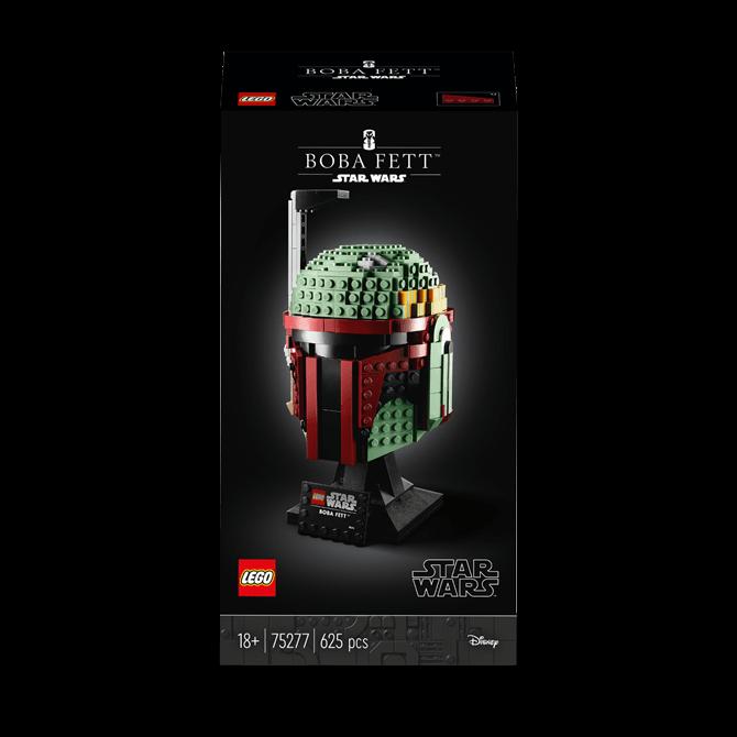 Lego Star Wars Boba Fett Helmet 75277 Set