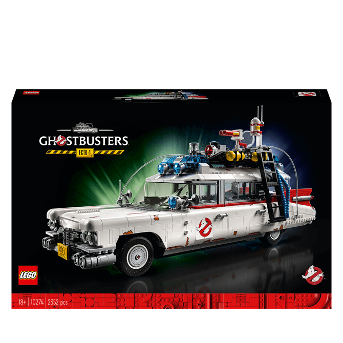 Lego Ghostbusters ECTO-1 10274 Set