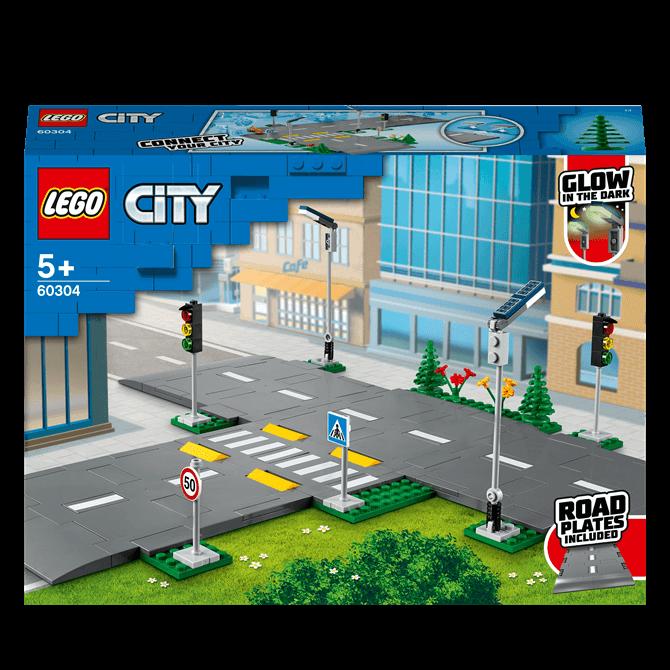 Lego City Road Plates 60304