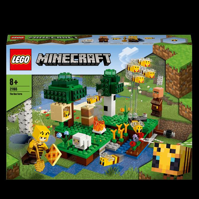 Lego Minecraft The Bee Farm Set 21165