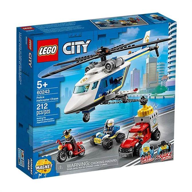 Lego City Helicopter Chase Set 60243
