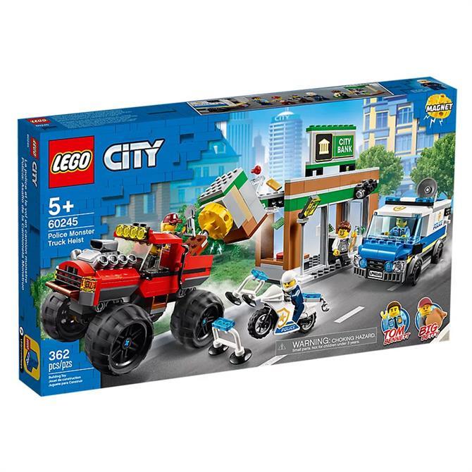 Lego City Police Monster Truck Heist Set 60245