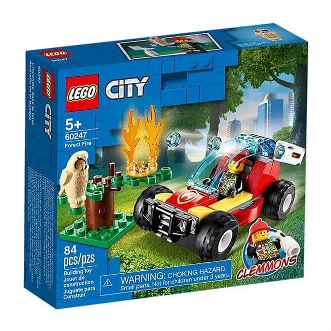 Lego City Forest Fire Set 60247