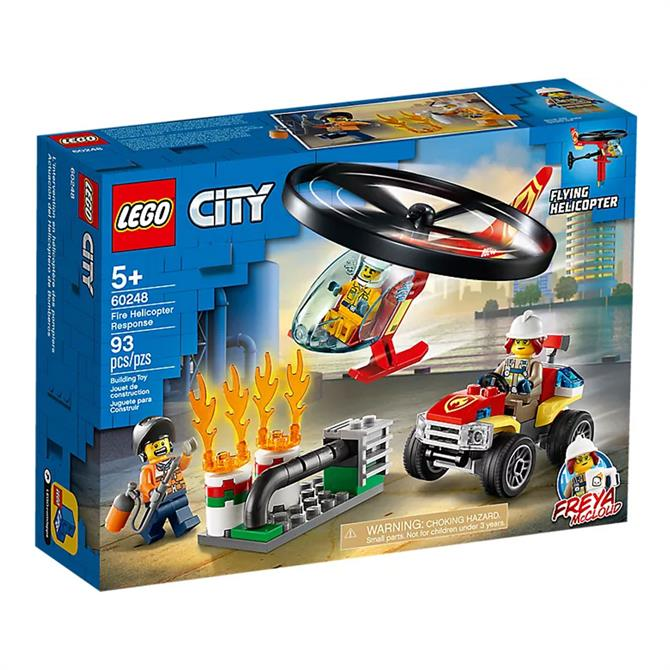 Lego City Fire Helicopter Response Set 60248