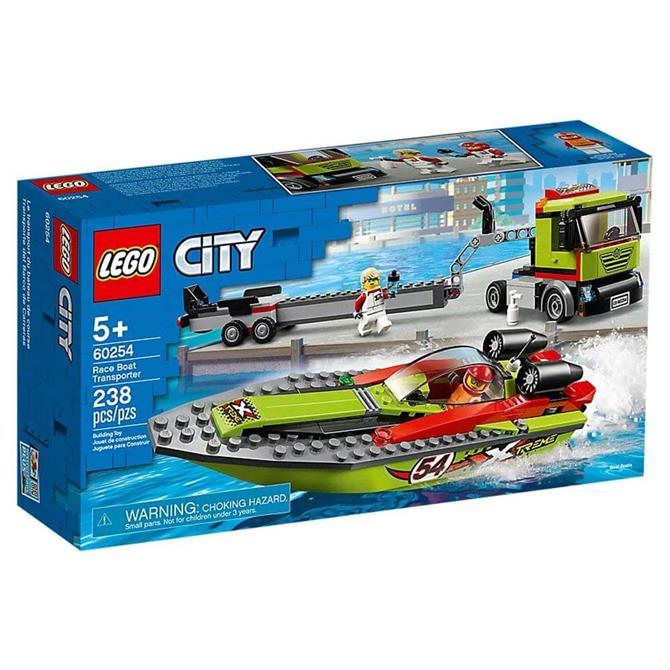 Lego City Race Boat Transporter Set 60254