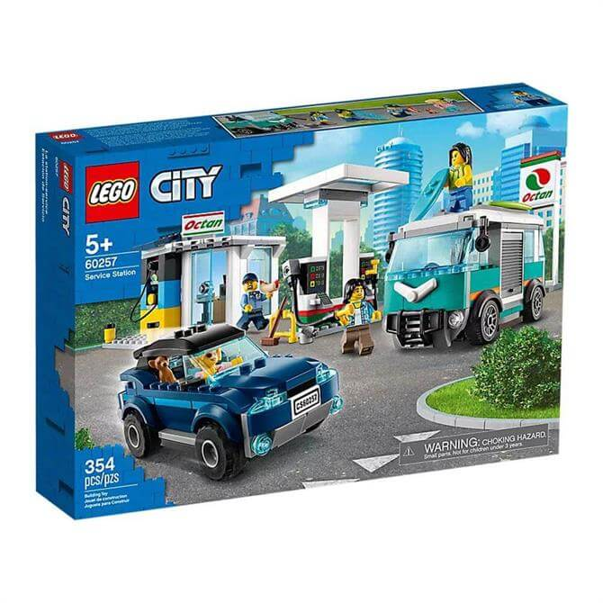 Lego City Service Station Set 60257