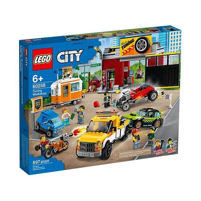 Lego City Tuning Workshop Set 60258