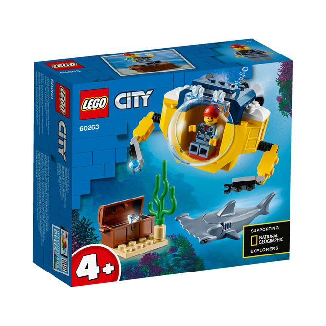 Lego City Ocean Exploration Mini-submarine 60263 Set
