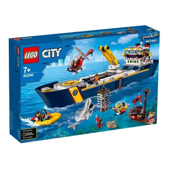Lego City Ocean Exploration Ship 60266 Set
