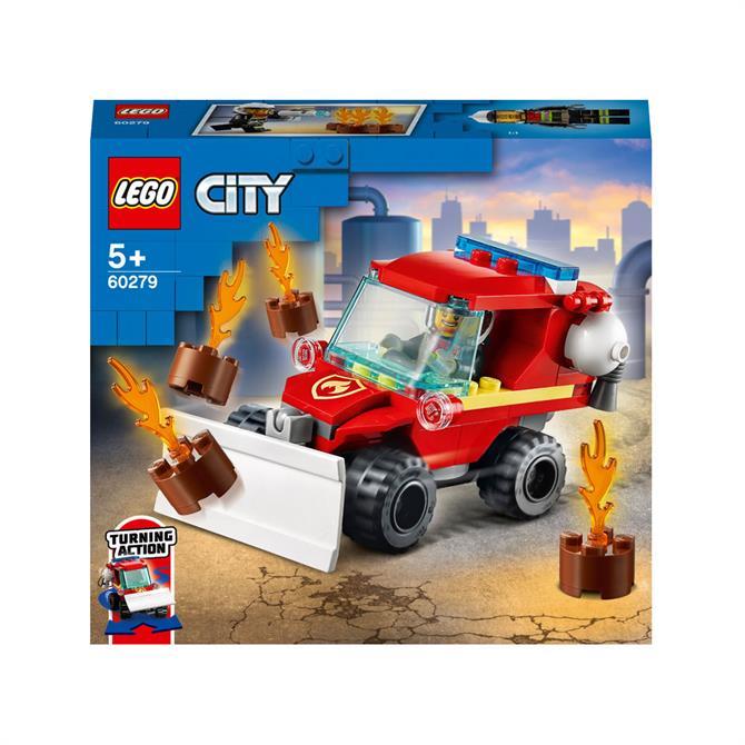 Lego City Fire Hazard Truck Set 60279