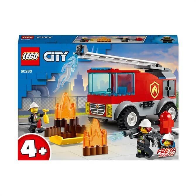 Lego City Fire Ladder Truck Set 60280