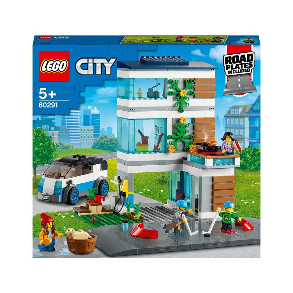 Lego City Family House Playset 60291 | Jarrold, Norwich