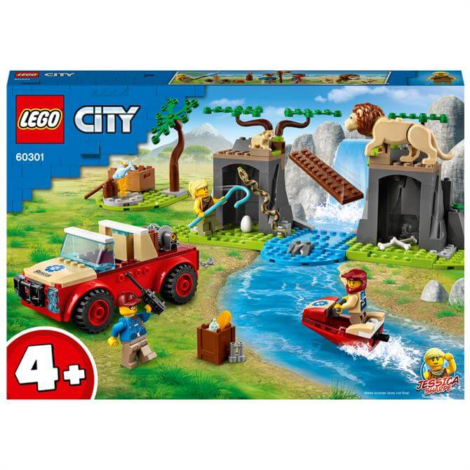 Lego Wildlife Rescue Off-Roader 60301