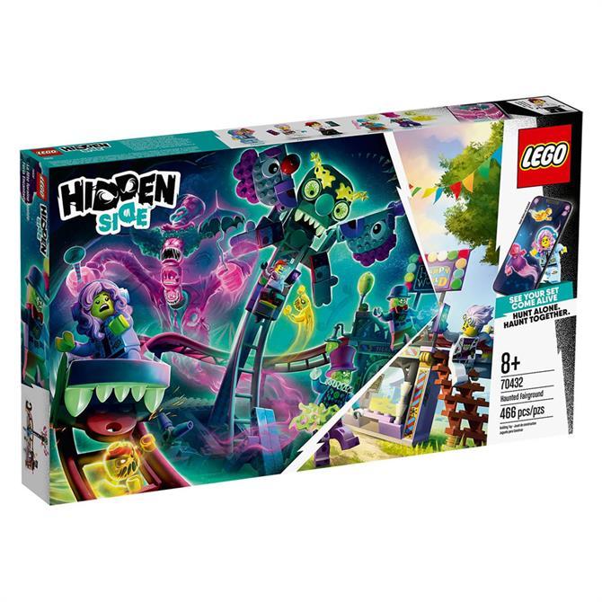 Lego Hidden Side Haunted Fairground Set 70432