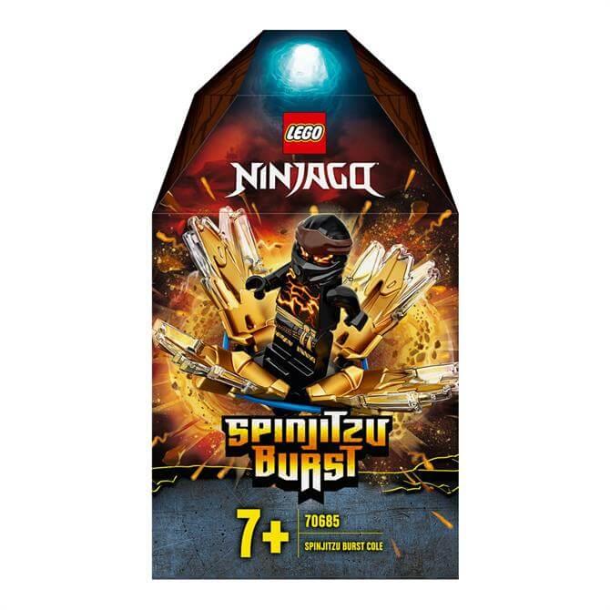 Lego Ninjago Spinjitzu Burst Cole Spinner Toy 70685