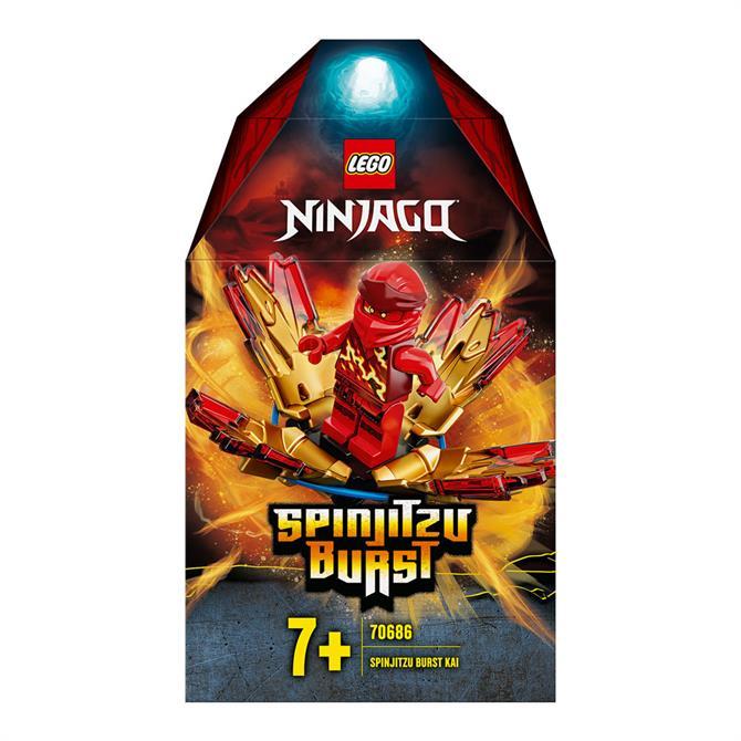 Lego Ninjago Spinijitzu Burst Kai Set 70686