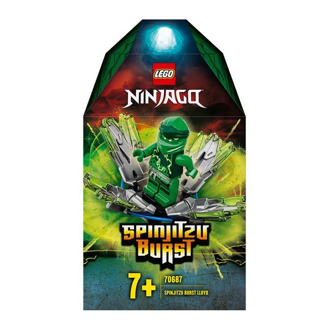 Lego Ninjago Spinjitzu Burst Lloyd Set 70687