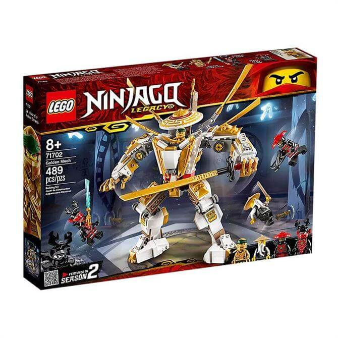 Lego Ninjago Golden Mech Set 71702
