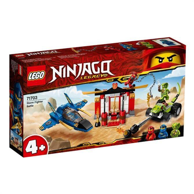Lego Ninjago Storm Fighter Battle 71703 Set