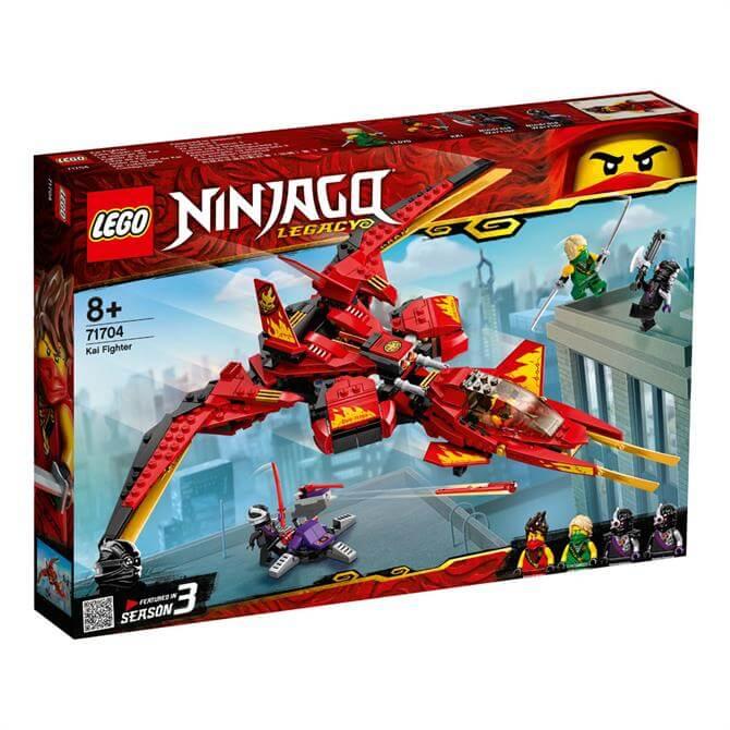 Lego Ninjago Kai Fighter 71704 Set