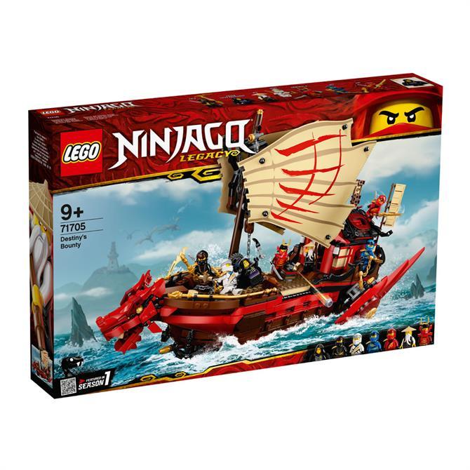 Lego Ninjago Destiny's Bounty 71705 Set