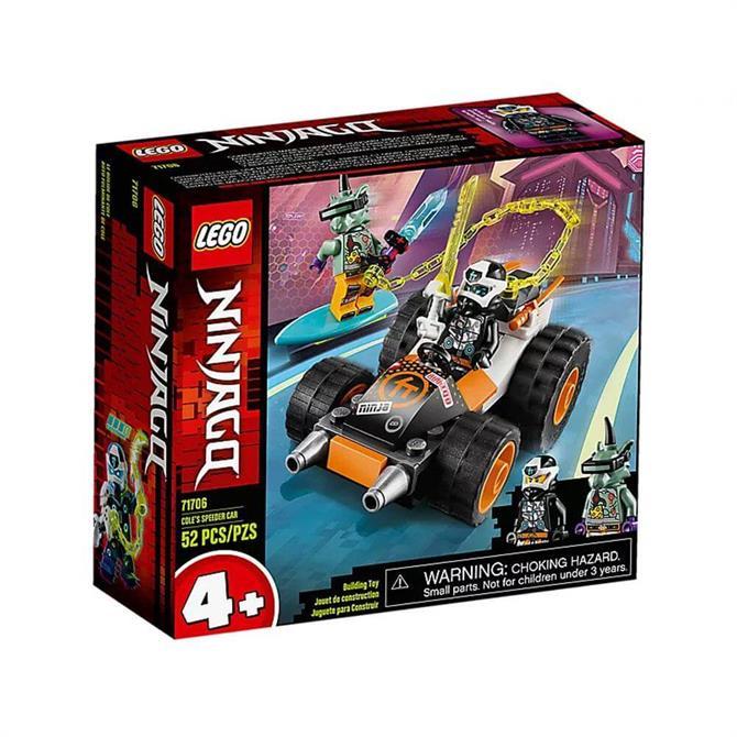 Lego Ninjago Coles Speeder Car Set 71706