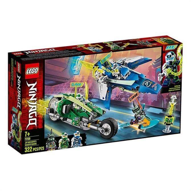 Lego Ninjago Jay and Lloyds Velocity Racers Set 71707