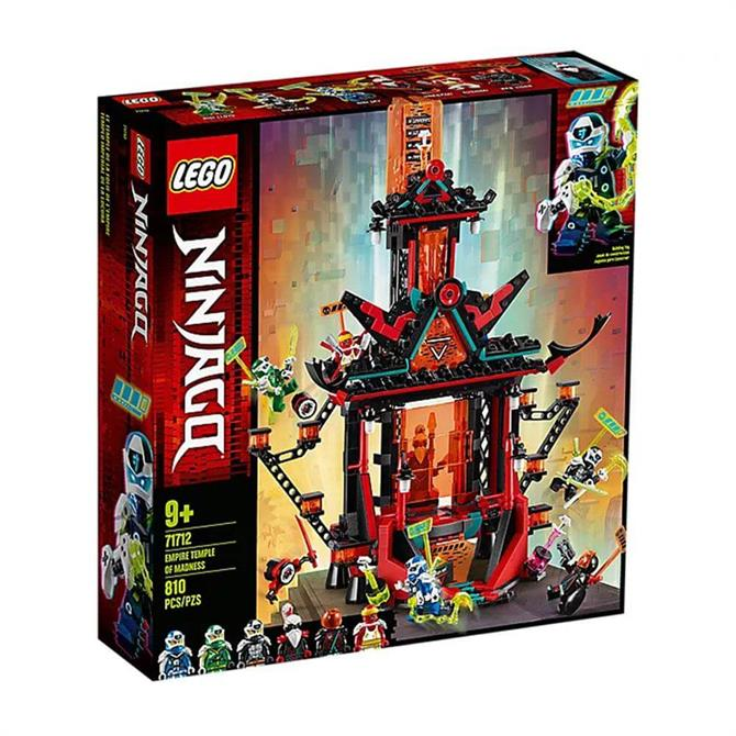 Lego Ninjago Empire Temple of Madness Set 71712