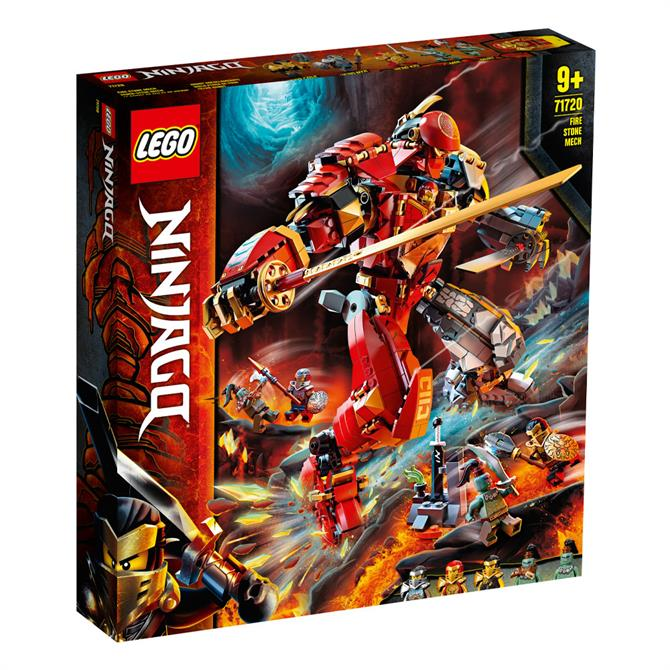 Lego Ninjago Fire Stone Mech 71720 Set