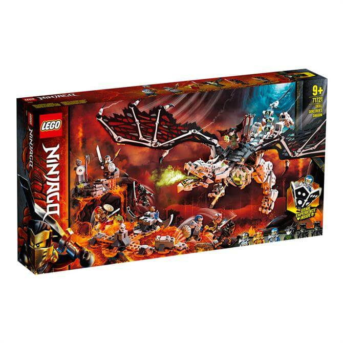 Lego Ninjago Skull Sorcerers Dragon 71721 Set
