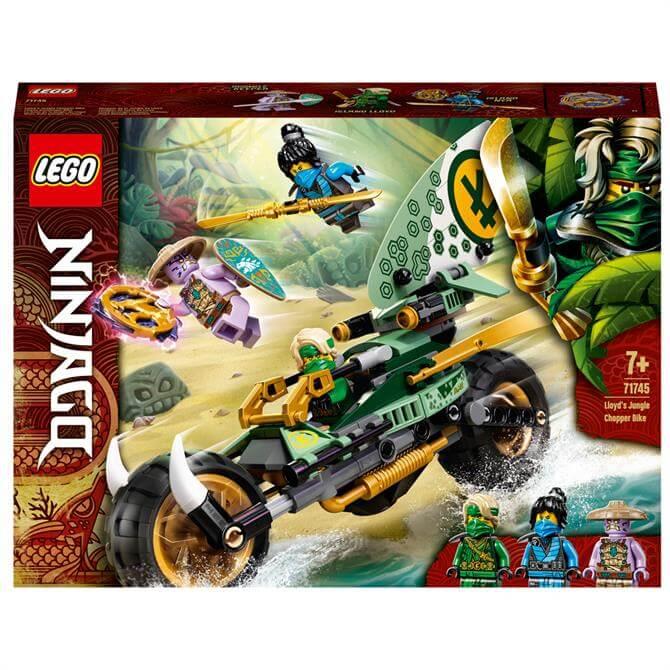 Lego Lloyd's Jungle Chopper Bike 71745