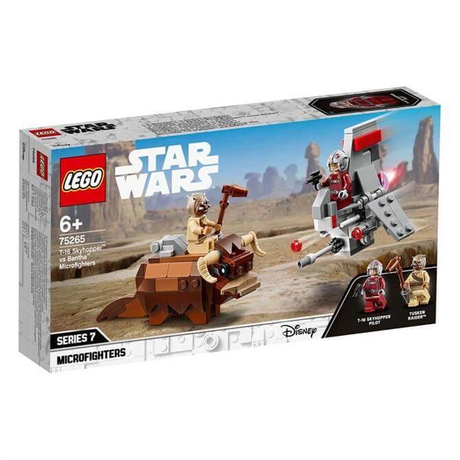 Lego Star Wars T16 Skyhopper vs Bantha Microfighters Set 75265