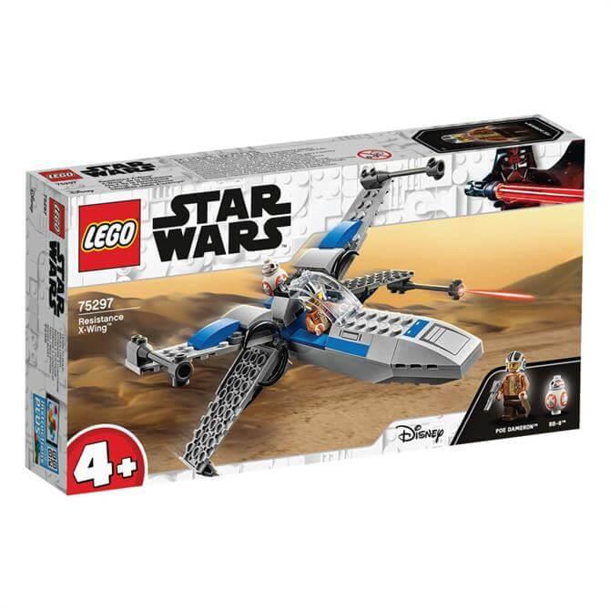 Lego Star Wars Resistance X-Wing Starfighter Set 75297