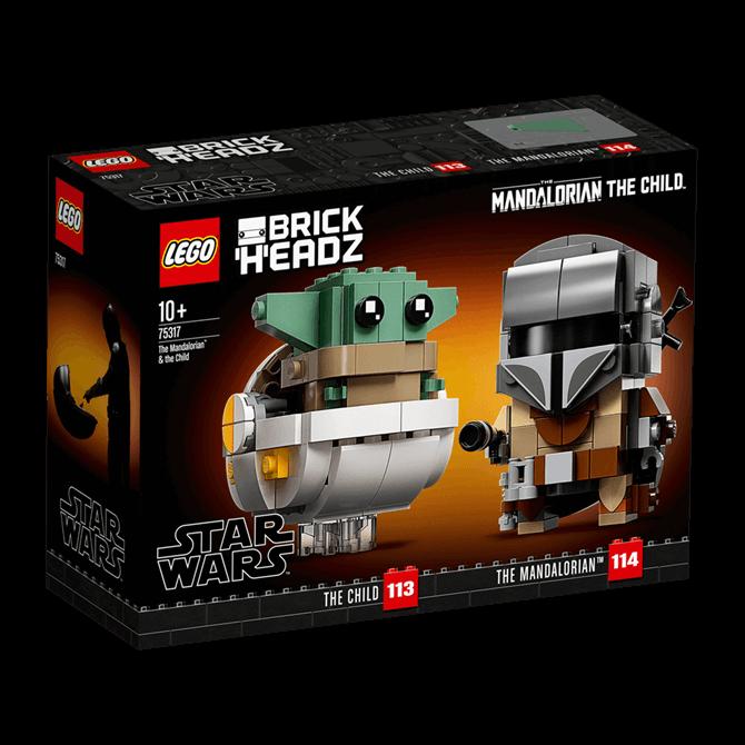 Lego Star Wars Mandalorian and Child Set 75317