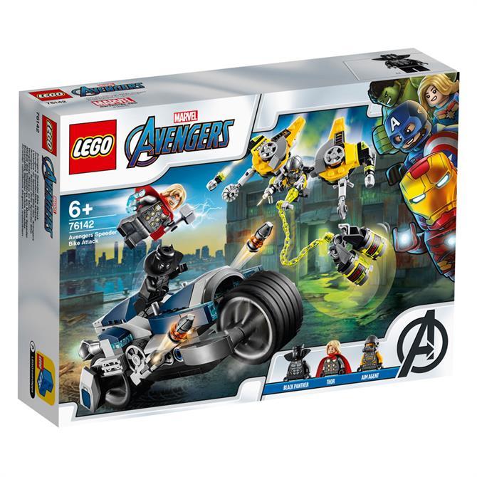 Lego Super Heroes Marvel Avengers Speeder Bike Attack 76142