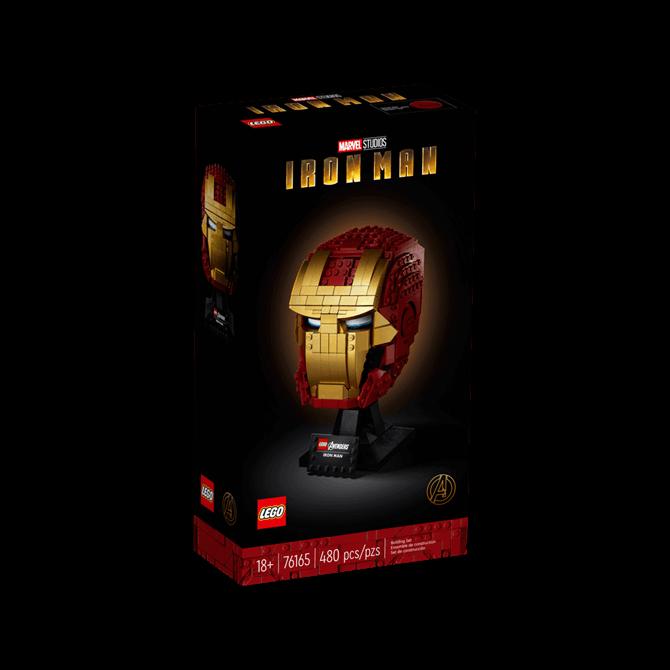 Lego Super Hero Iron Man Helmet 76165