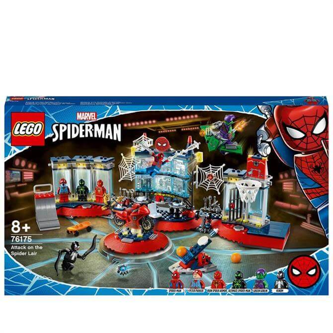 Lego Attack on the Spider Lair 76175