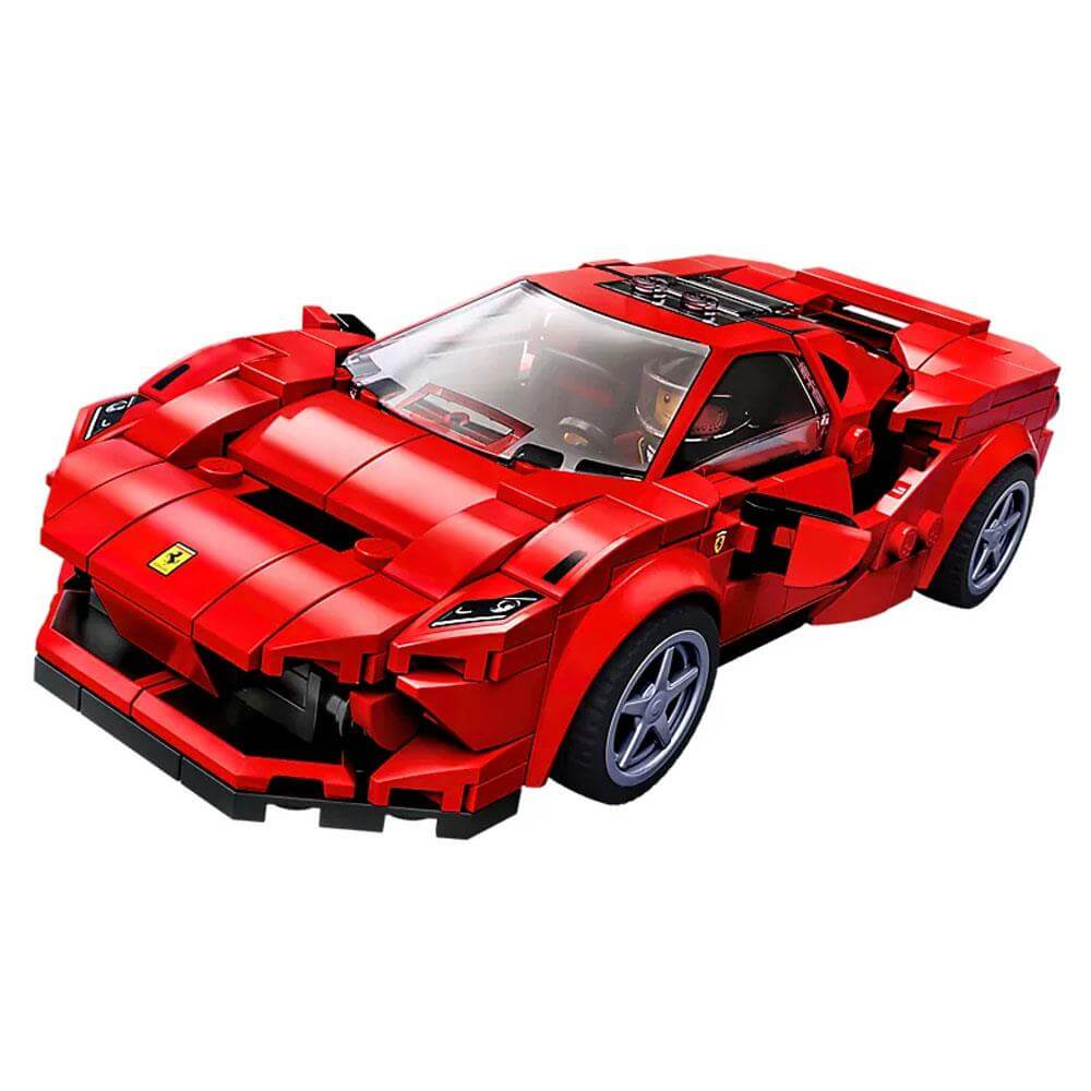 Ferrari F8 Tributo Engine: Lego Speed Champions Ferrai F8 Tributo Set 76895