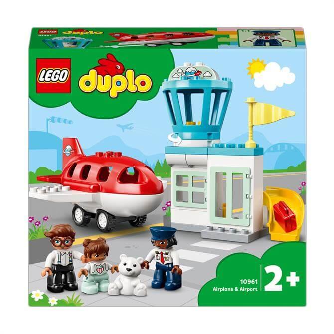 Lego Duplo Town Aeroplane & Airport Set 10961