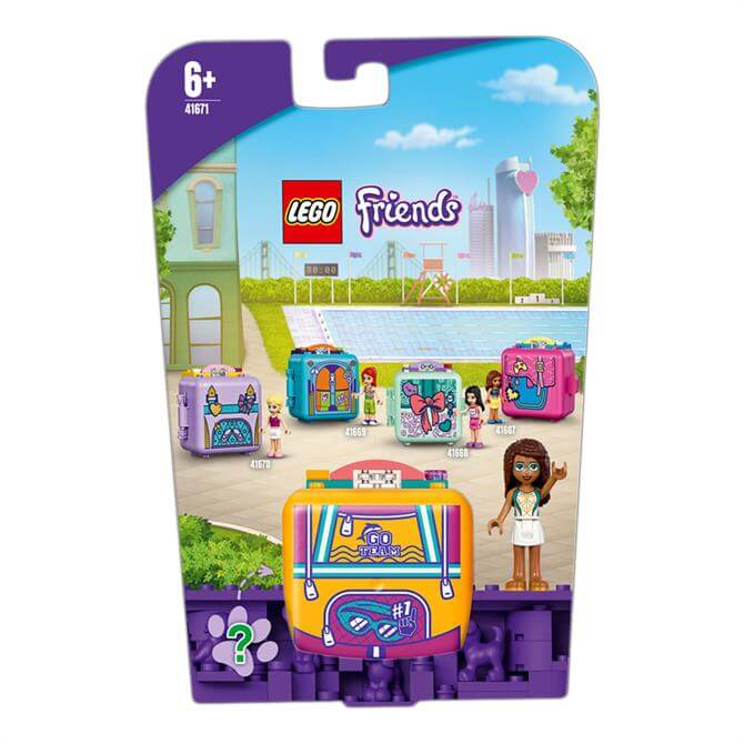 Lego Friends Andrea's Swimming Cube Play Set 41671