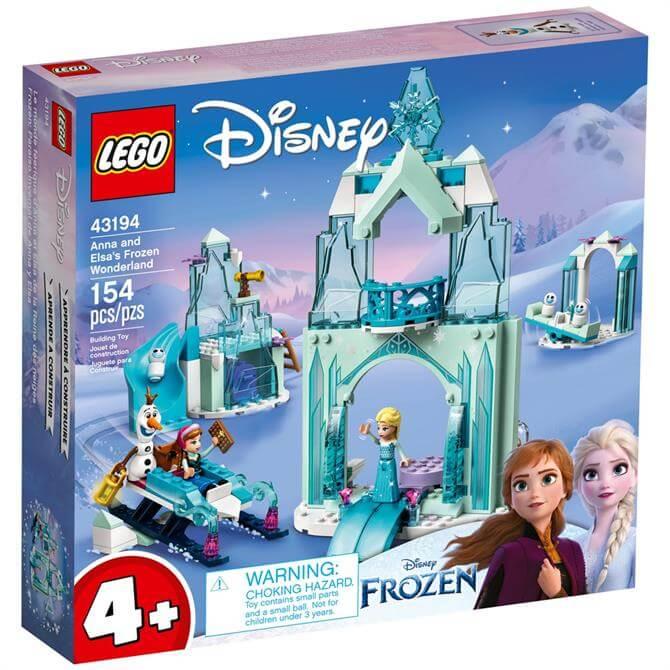 Lego Disney Anna & Elsa's Frozen Wonderland 43194