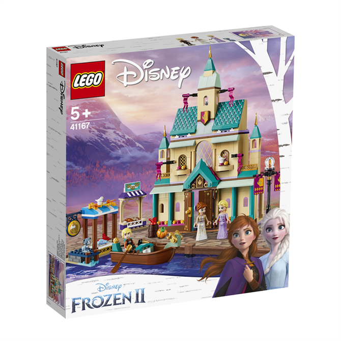 Lego Disney Frozen 2 Arendelle Castle Village Playset 41167