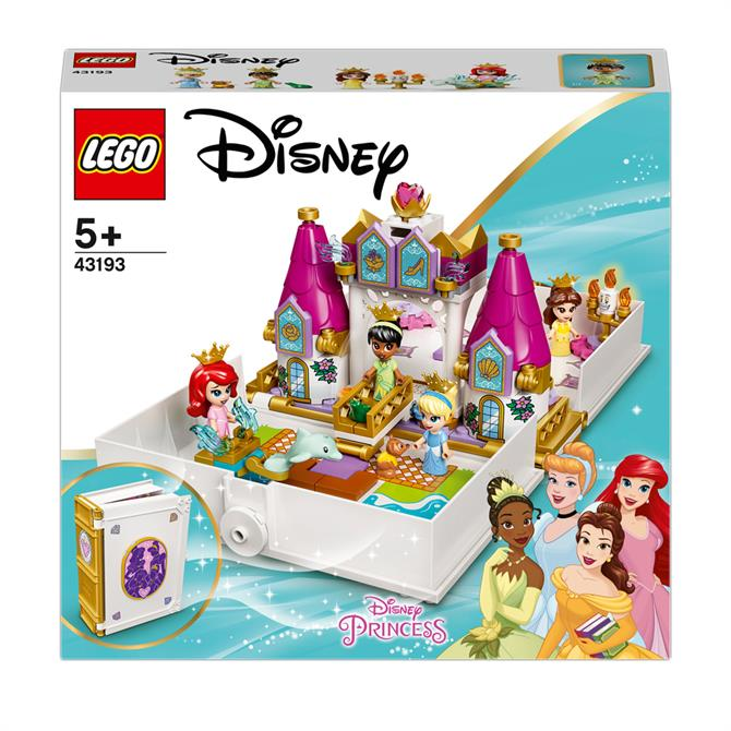 Lego Ariel, Belle, Cinderella and Tiana's Storybook Adventures 43193