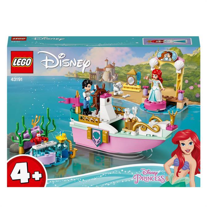 Lego Disney Ariel's Celebration Boat 43191