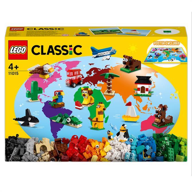 Lego Classic Around The World Bricks Set 11015