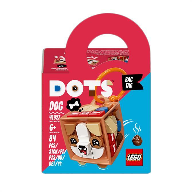 Lego Dots Bag Tag Dog Accessories Craft Set 41927