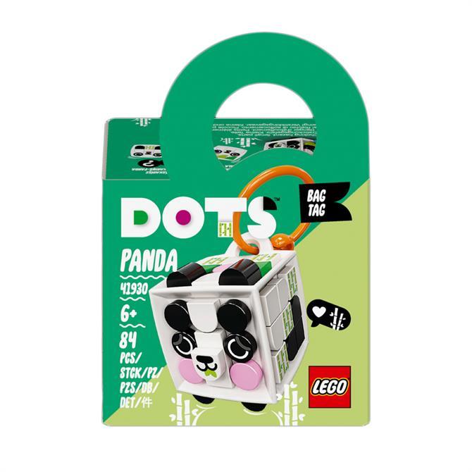 Lego Dots Bag Tag Panda Accessories Craft Set 41930