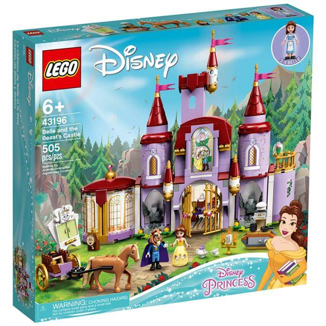 Lego Disney Belle & The Beast's Castle 43196